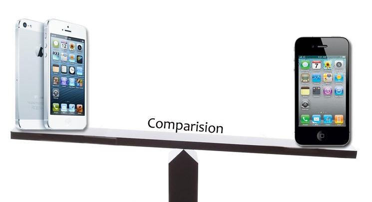 عمل مقارنة بين الجوالات