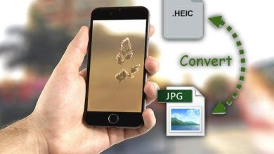 تحويل صيغة الصور من heic الى jpg للاندرويد