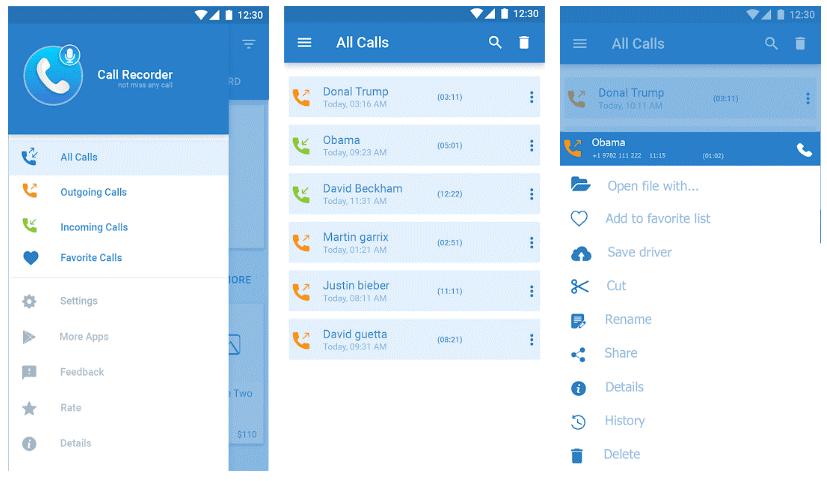 تطبيق تسجيل الاتصالات - أفضل 15 تطبيق تسجيل المكالمات الواردة و الصادرة بسهولة و بوضوح .!أندرويد