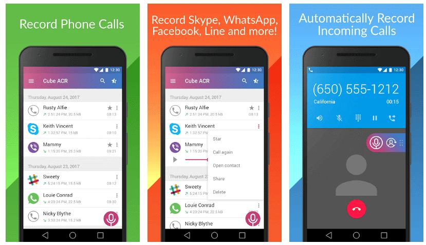 تسجيل مكالمات 1 - أفضل 15 تطبيق تسجيل المكالمات الواردة و الصادرة بسهولة و بوضوح .!أندرويد