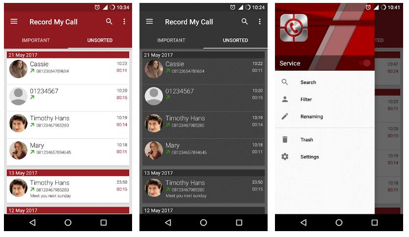 Android Call Recorder by RMC تطبيق تسجيل المكالمات اندرويد 1 - أفضل 15 تطبيق تسجيل المكالمات الواردة و الصادرة بسهولة و بوضوح .!أندرويد