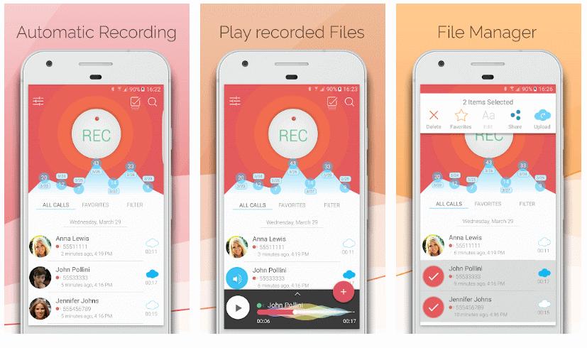 Automatic Call Recorder by CallsBOX تسجيل تلقائي للمكالمات اتصالات 1 - أفضل 15 تطبيق تسجيل المكالمات الواردة و الصادرة بسهولة و بوضوح .!أندرويد