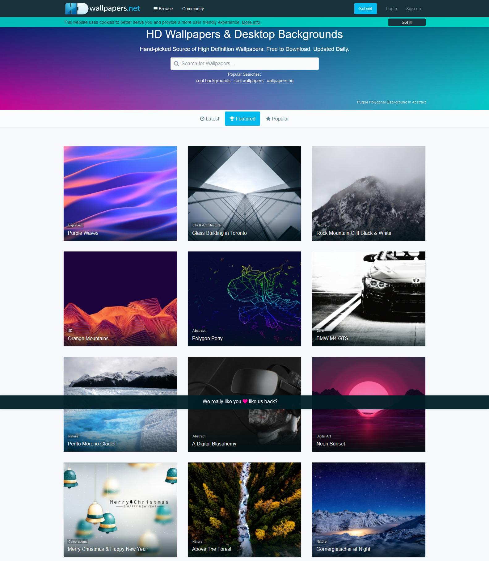 خلفيات دقة اتش دي - أفضل 7 مواقع خلفيات عالية الدقة للجوال و الكمبيوتر و للمصممين و عشاق الصور