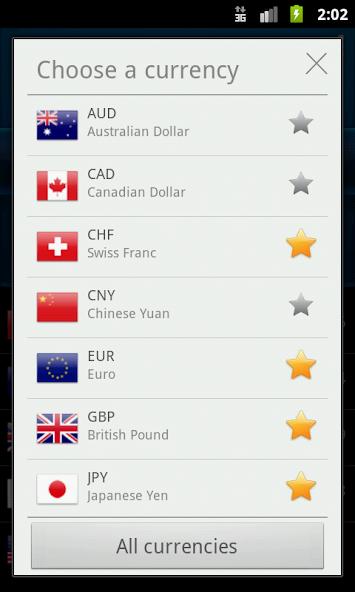 برنامج تحويل العملات اندرويد